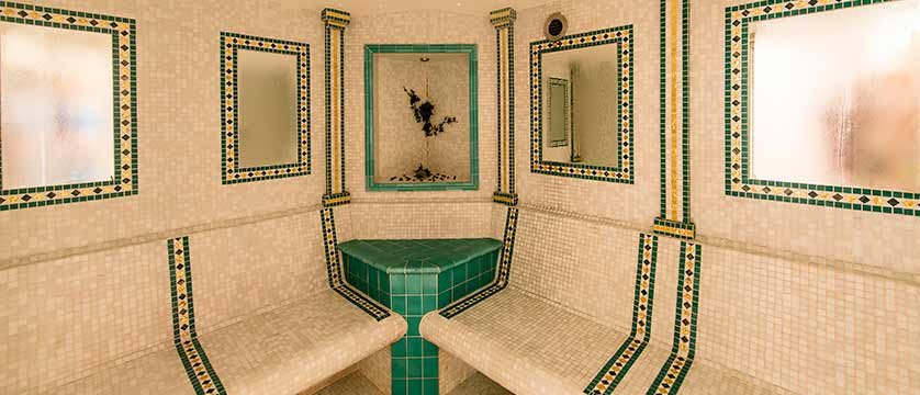 Hotel Oswald, Selva, Italy - spa, steam room.jpg